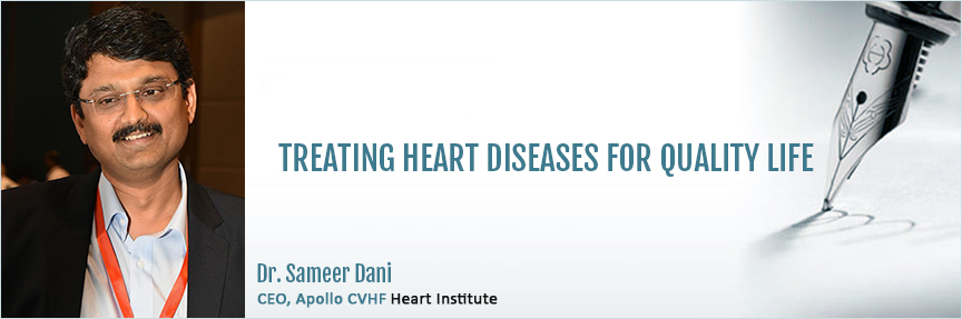 CEO Message, Apollo CVHF Heart Institute