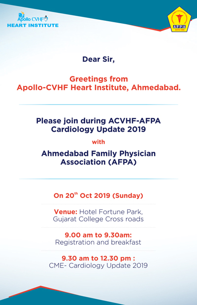 ACVHF-AFPA Cardiology Update 2019