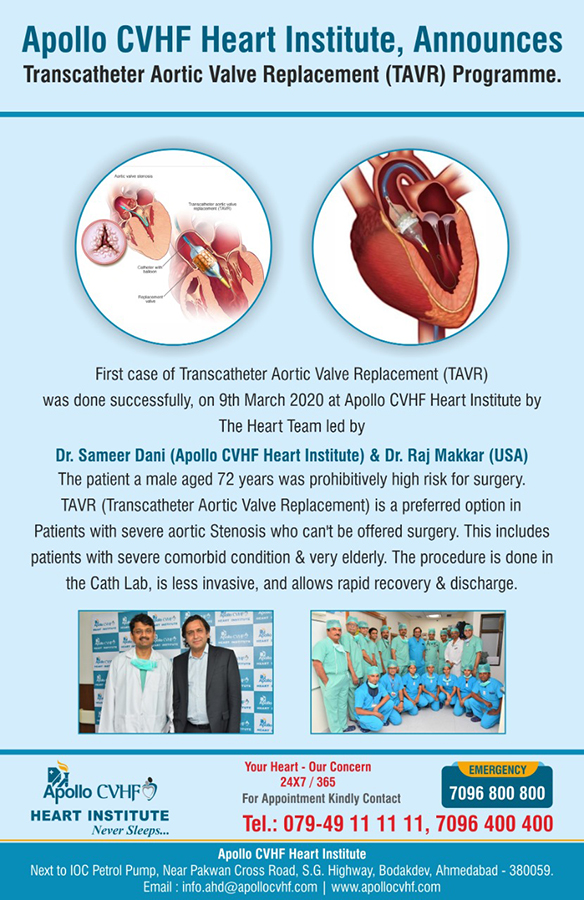 Transcatheter Aortic Valve Replacement (TAVR) Programme