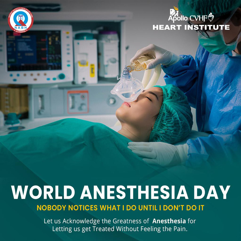 World Anesthesia Day